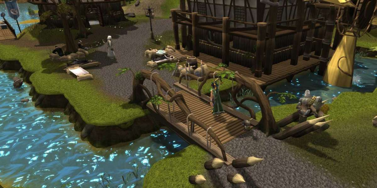 The contradiction between the old school RuneScape's bounty hunter world and gold farming