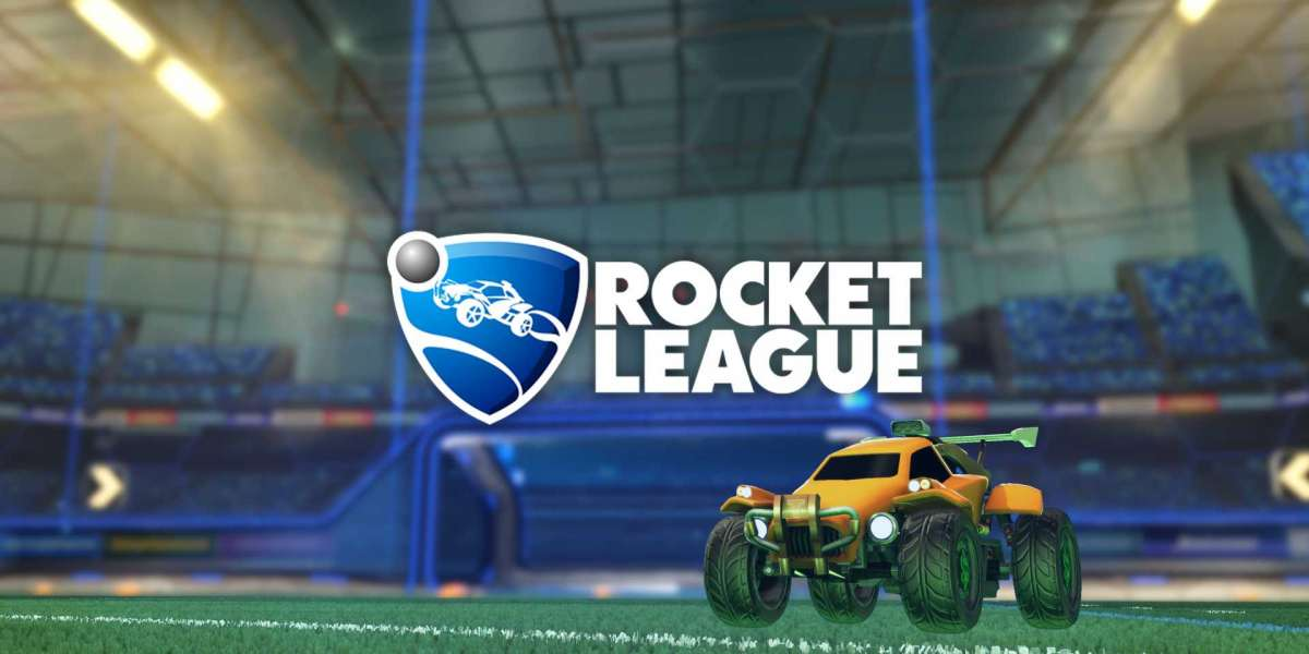 Players at the start had to pick up Rocket League