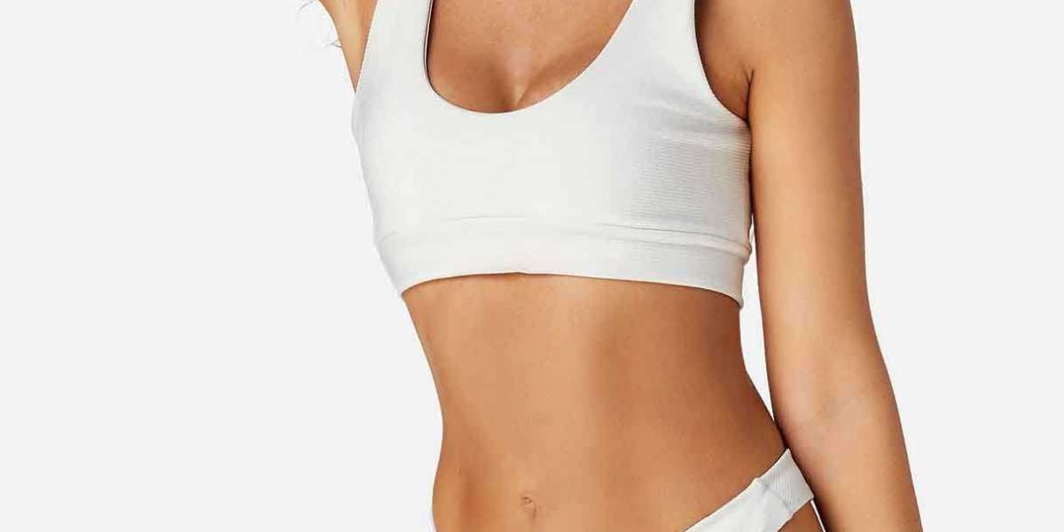 White Halter Sleeveless Grid Cut Out Spaghetti Strap Self-Tie Bikinis