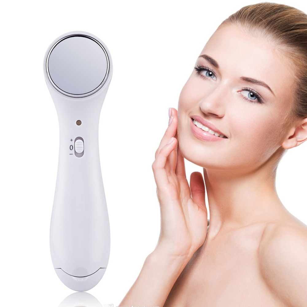 Ultrasonic Face Cleaner Cleanser Massager Vibrating Ionic Infusion for Skin Tightening Anti Wrinkle Beauty Skin Care Device|Home Use Beauty Devices|   - AliExpress