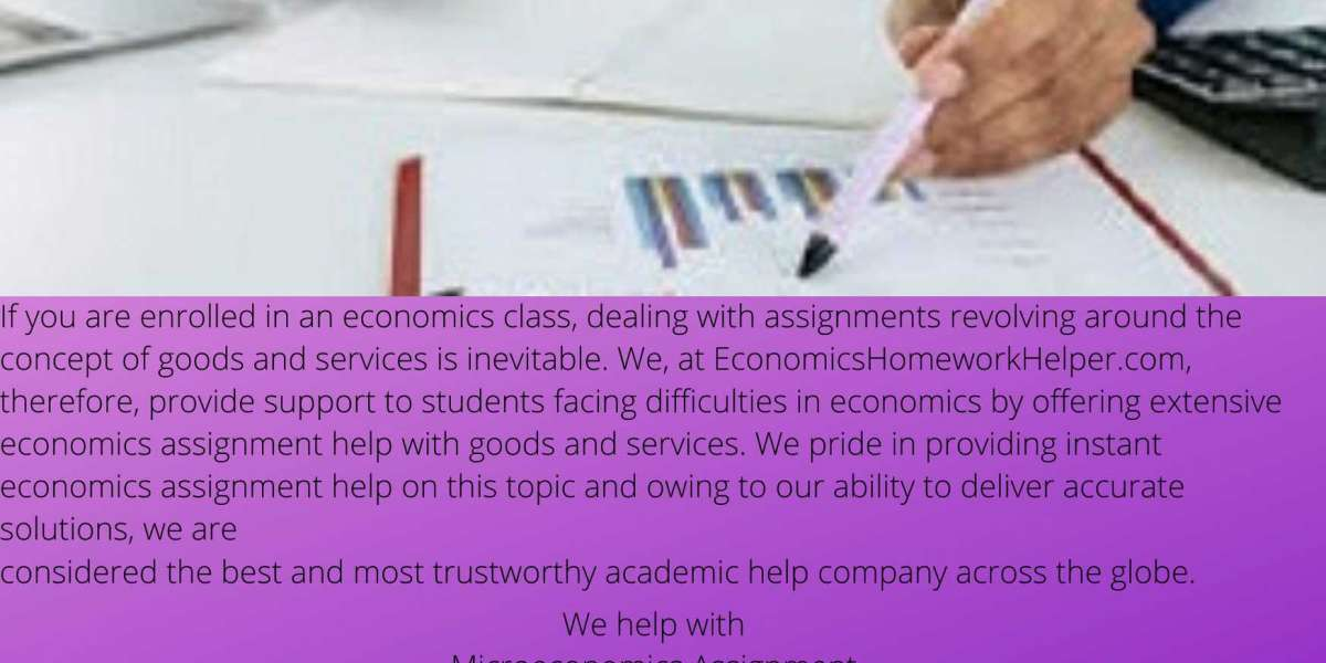 The Best Online Economics Assignment Help Experts